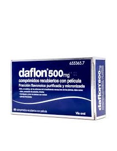 DAFLON 500 MG 60 COMP