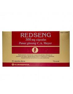 REDSENG GINSENG 30 CAPSULAS