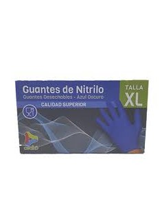 GUANTES NITRILO SANYC 100 U...