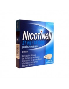 NICOTINELL 21 MG 7 PARCHES