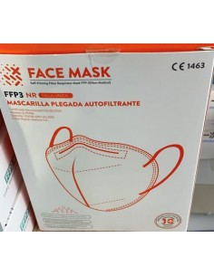 MASCARILLAS FFP3 BLANCAS 10...