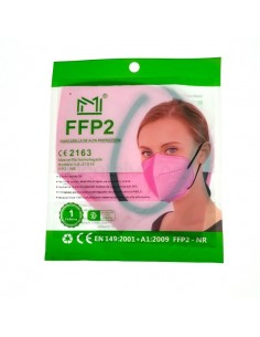 MASCARILLAS FFP2  FUCSIA...
