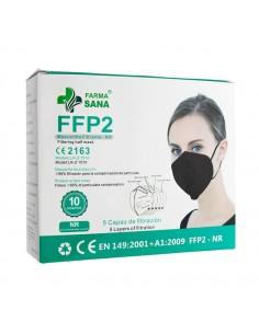 MASCARILLA FFP2 NEGRA...