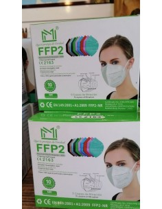 MASCARILLAS FFP2 COLORES...